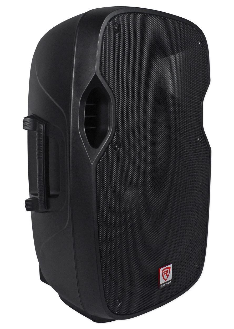 Rockville SPGN158 15'' Passive 1600W DJ PA Speaker ABS Lightweight Cabinet 8 Ohm