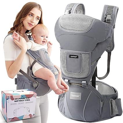 Ergonomische 3 in 1 Babytragetuch Babytrage Baby Bauchtrage Kindertrage bis 20KG