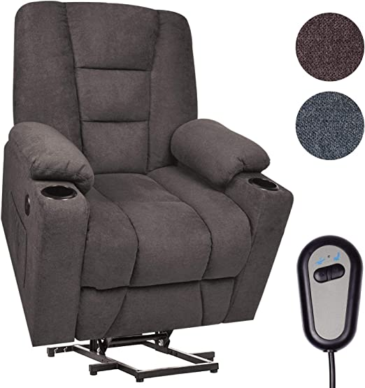 Maxxprime Upgraded Electric Power Lift Recliner Chair Sofa for Elderly, 23