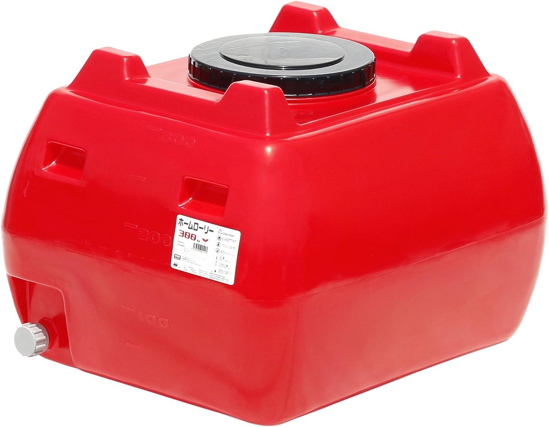 スイコー ホームローリータンク 300L (レッド) B00IIJG8Y2 10150 赤 赤