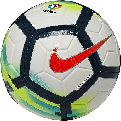 nike LL NK Strk Balón de Fútbol, Blanco / (White / Turquoise ...