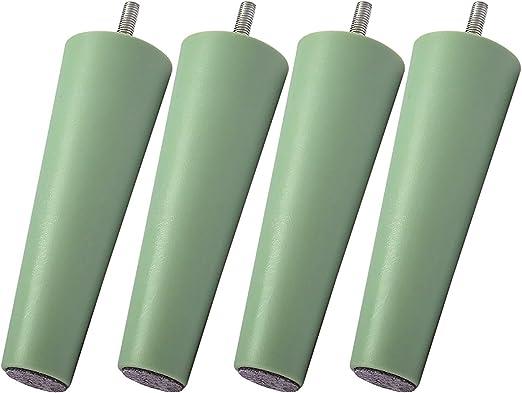 piernas de sof/á piernas de reemplazo para sof/á piernas de cama piernas IKEA cortas IKEA Legheads M8 IKEA Piernas de repuesto para muebles piernas de sof/á de calidad superior piernas de sof/á de reemplazo, 5 colores