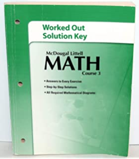 Practice workbook for mcdougal littell math course 3 mcdougal mcdougal littell math course 3 worked out solution key fandeluxe Gallery