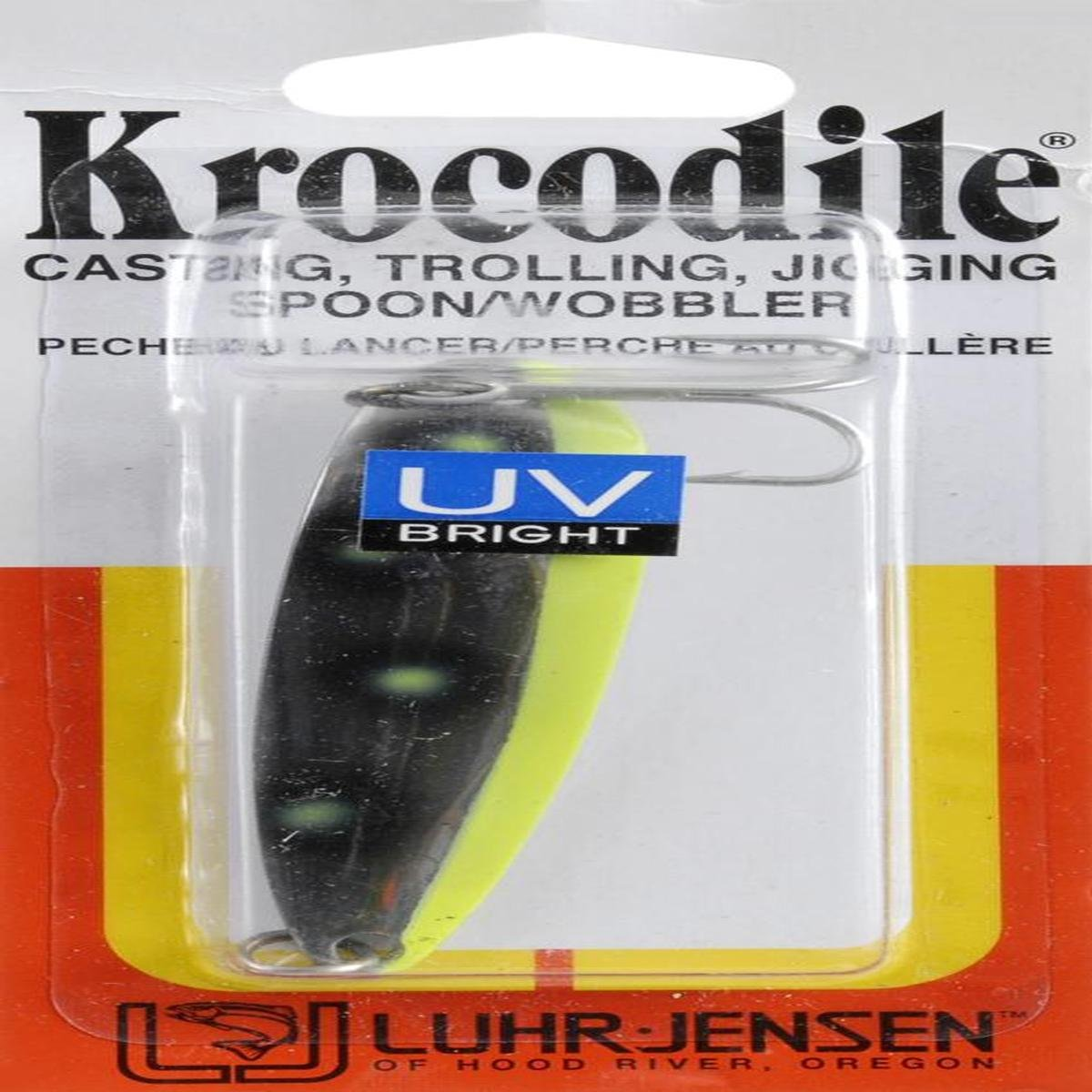 Amazon.com : Luhr Jensen Luhr-Jensen 1 Krocodile (Treble ...