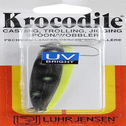 Amazon.com: Lurh Jensen – Krocodile Cuchara, Fluorescente ...