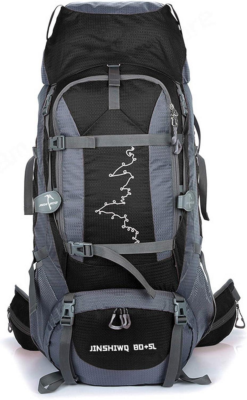 Outdoor Foldable Backpack WaterProof Rain Cover Rucksack Travel Bag 30L-85L