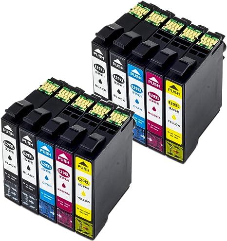 Nanologic T2991 T2992 T2993 T2994 Cartuchos de Tinta para Epson ...
