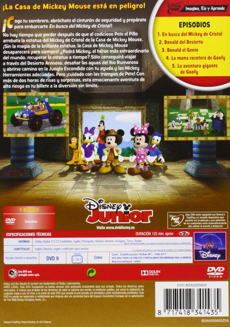 La Casa De Mickey Mouse: En Busca Del Mickey De Cristal DVD: Amazon ...