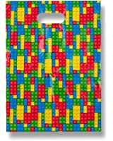 Gift Boutique Building Blocks Treat Bags - 48 Pack