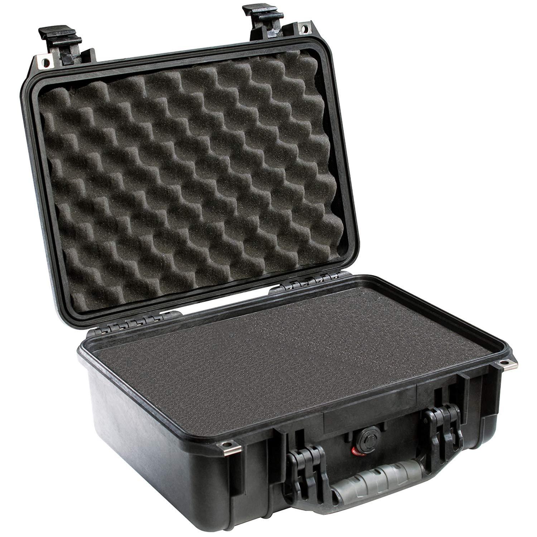 Pelican 1450 Case With Foam (Black)
