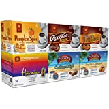 Copper Moon Single Cups for Keurig K-Cup Brewers, Variety Pack - Flavored Coffee Favorites, 72 Count
