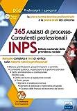 Concorso INPS 2017. 365 posti di analisti. Prova tecnico professionale e prova orale