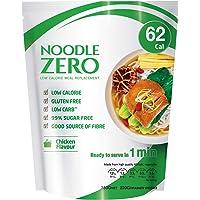 NoodleZero Konjac/Shirataki Low Calorie Meal - Chicken Flavour, 380g Low Carb, Gluten Free, Keto Friendly, Easy to Prepare, Healthy Diet Pasta