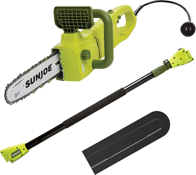 Sun Joe SWJ807E Electric Convertible Pole Chain Saw
