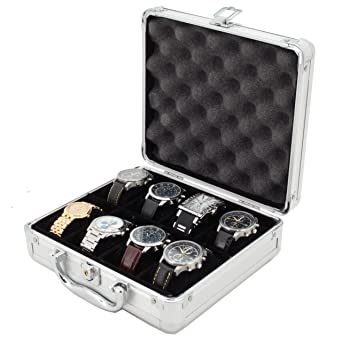 Merveilleux Small Watch Case   PERFECT WATCH STORAGE ORGANIZER   TECH SWISS Briefcase 8  Watches STORAGE U0026