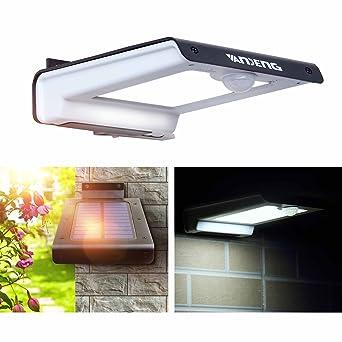 Al aire libre solar luces, vandeng Super Bright 32 LED Solar con Sensor de movimiento