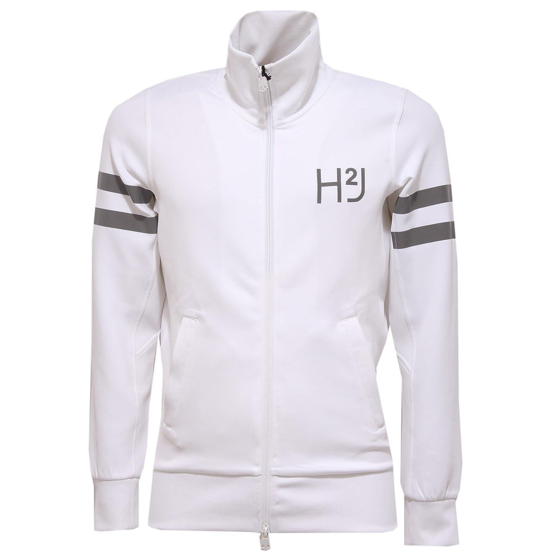 Bianco S HYDROGEN 5437W Felpa hommes Reflex blanc Full Zip Sweatshirt Man