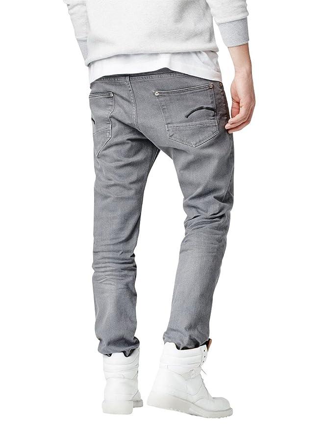 G-Star Herren Jeans Revend Straight Fit - Grau - Accel Grey, Größe:W 34 L  28;Farbe:Accel Grey (071): Amazon.de: Bekleidung