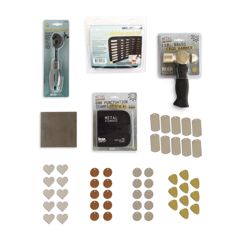 RMP Metal Stamping Kit Comic Uppercase