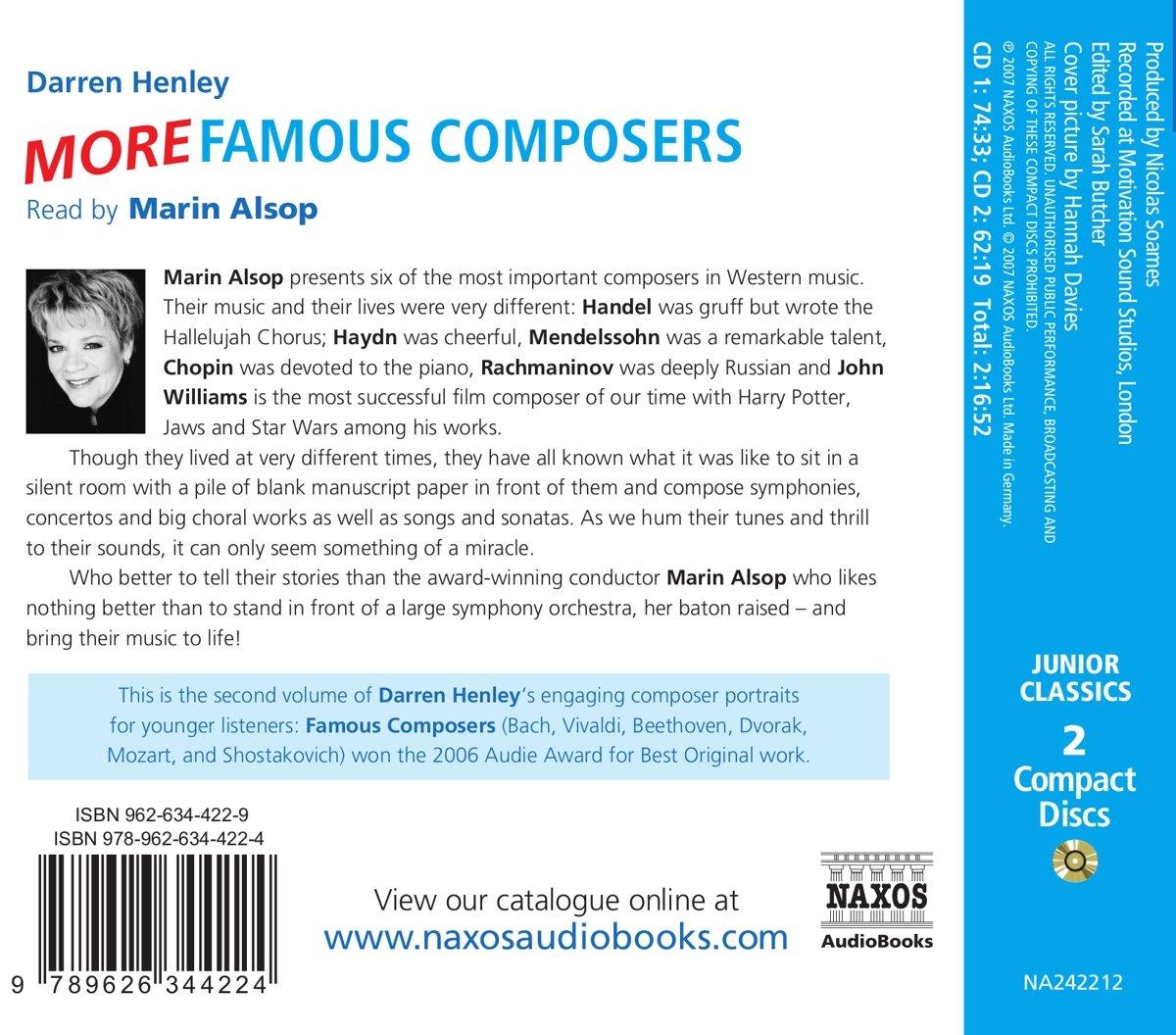 More Famous Composers (Classic Fm Junior Classics) (v. 2)