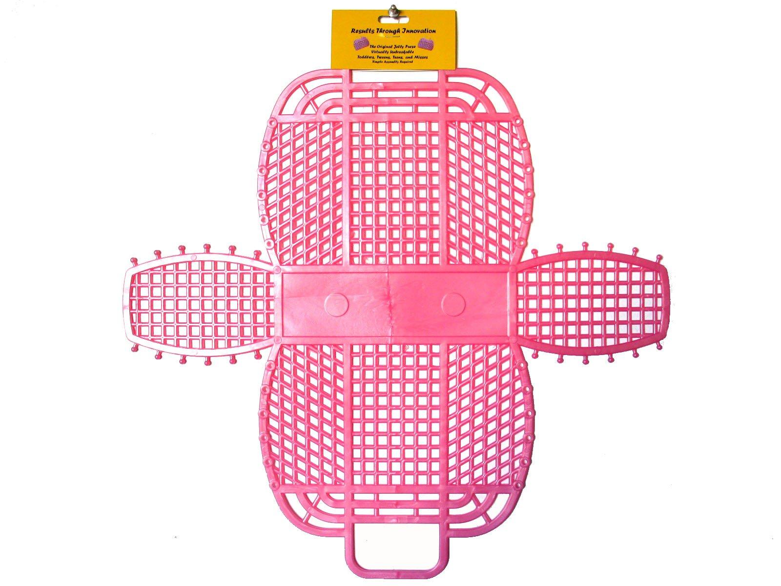 The Original Retro Jelly Purse, Handbag, 9'', Pearl Pink by Fashion Jellies (Image #2)