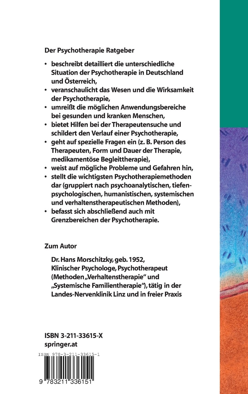 Psychotherapie Ratgeber: Ein Wegweiser zur seelischen Gesundheit ...