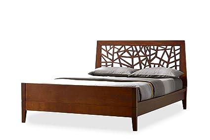 Amazon.com: Baxton Studio Jennifer Tree Branch Inspired Walnut ...