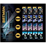 Batman 75th Anniversary, Full Sheet of 20 Forever Stamps in 8 Designs, USA 2014