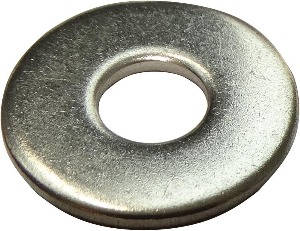 100x rondelle Plate M6 Ф11mm H1.6mm DIN9021 Acier Inoxydable A2 C17689 Aerzetix