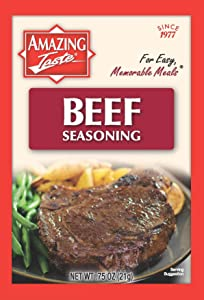 Amazing Taste Beef Seasoning Bundle (10 Packets- .75 oz ea.)
