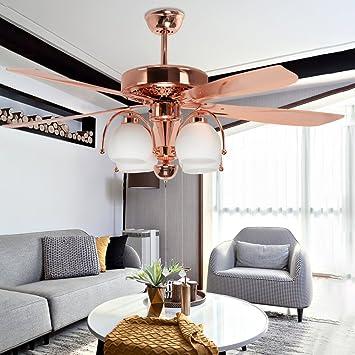 Akronfire Vintage Ceiling Fan Decoration Living Room Bedroom Indoor ...