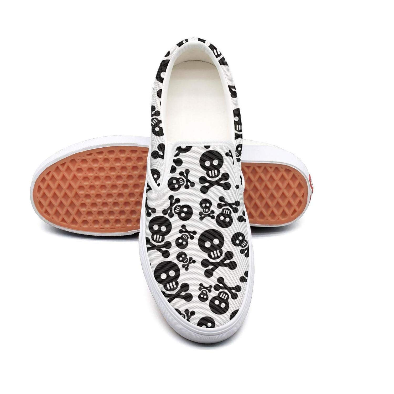 Cute skulls double cross Tennis Shoes for Women sports Quick-Drying Girl Running Shoes