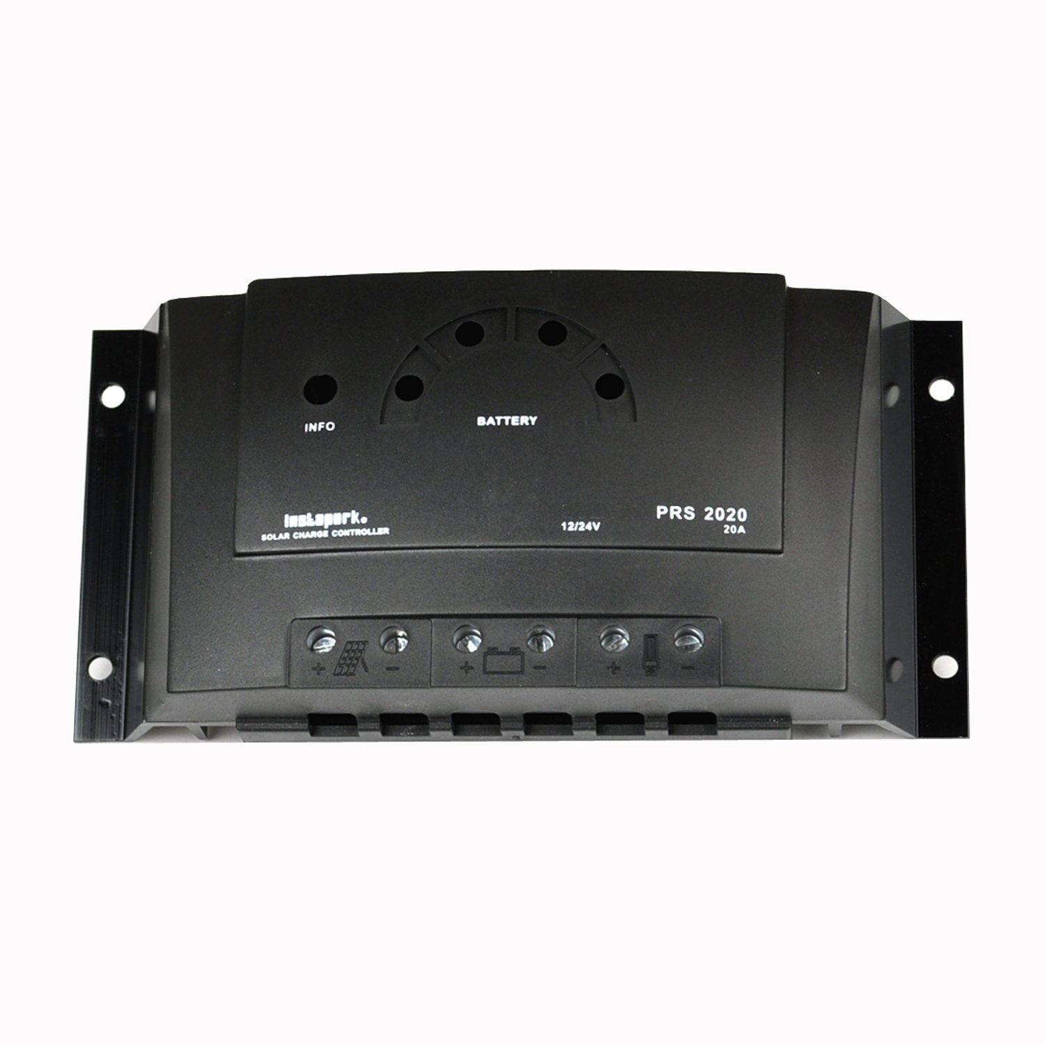 Instapark PRS Series PWM 12V/24V Solar Power Charge Controller (20A)