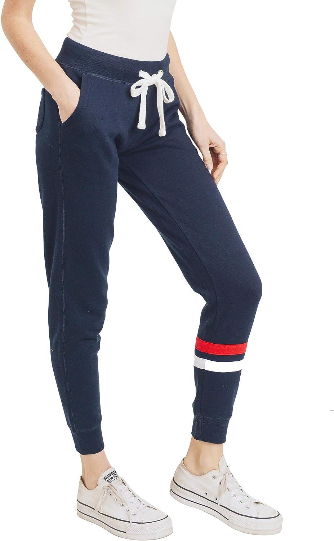 esstive Womens Ultra Soft Fleece Basic Midweight Casual Solid Jogger Pants