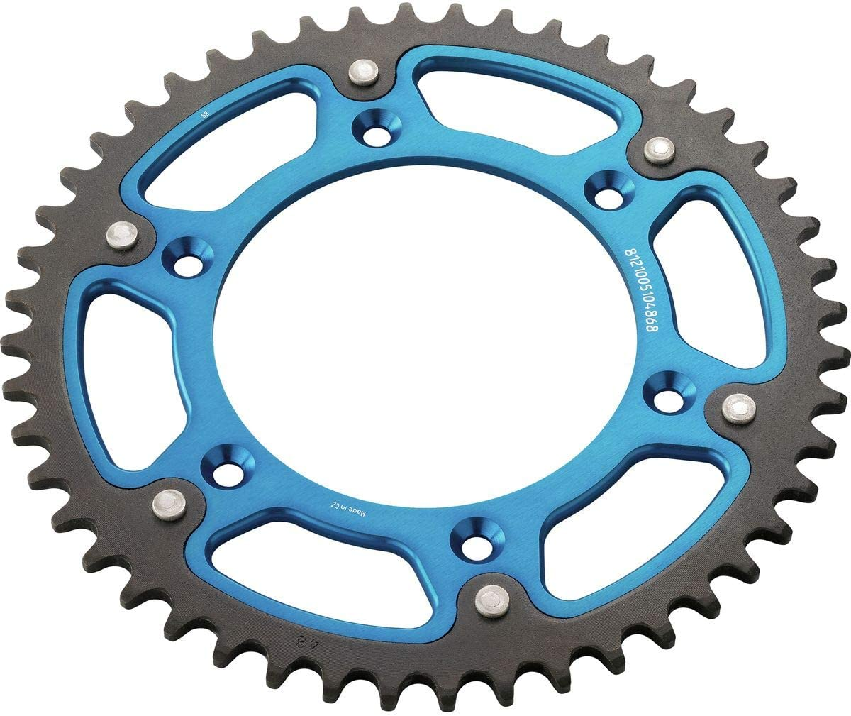 14-18 HUSQVARNA FC450HQ 50 Tooth Husqvarna PowerParts 2K Rear Sprocket Blue