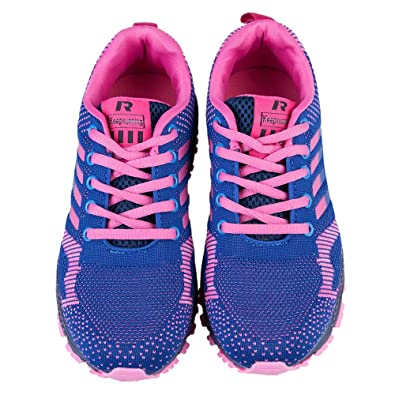 low cost ae98f 46e63 Rosegal Femme Chaussures Fitness Entrainement Course Gym Basse Sport  Randonnée athlétique Basket Sneaker (39,