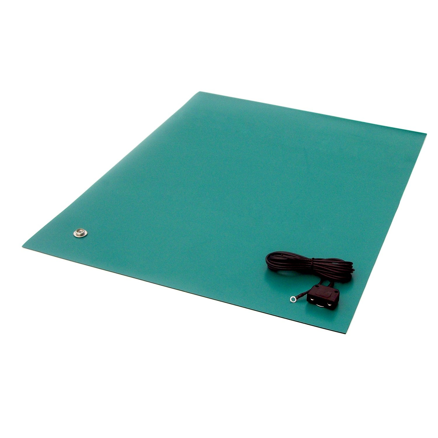 Green StaticTek MT4500 2-Layer Conductive Table Cut Matting Rubber Table Mats for ESD Work Surface ESD Mats including Hardware 24x36 TT/_MT2436GN