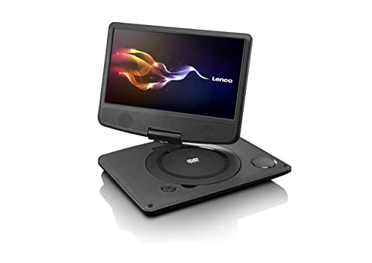 Lenco dvp 9331 tragbarer dvd player 22 9 cm 9 zoll usb tft 180