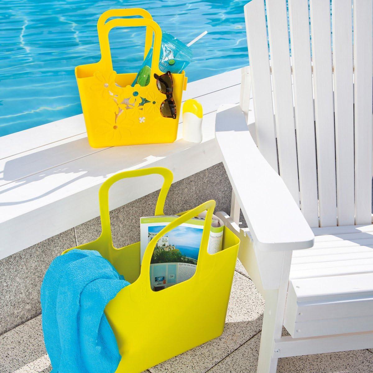 Arancione 5413521 Borsa per la Spesa Shopper Koziol Alice Borsa in Plastica