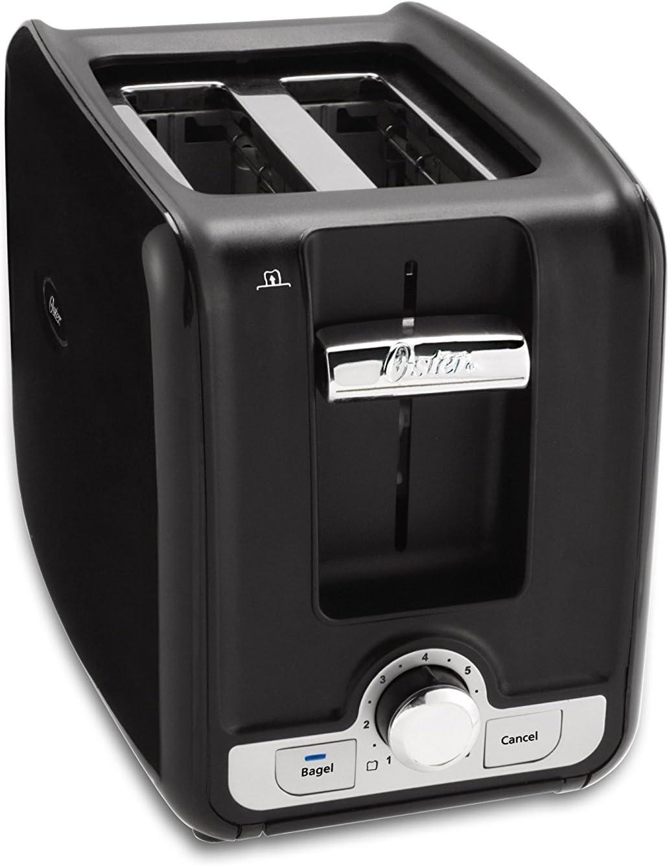 Oster TSSTTRWA21 2-Slice Toaster, Black