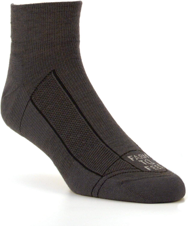 Farm to Feet Men's Greensboro Lightweight 1/4 Crew Socks