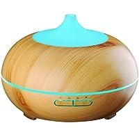 VicTsing 300ml Aroma Diffuser Luftbefeuchter Ultraschall LED Ätherische Öle Humidifier Aromatherapie Diffusor Duftzerstäuber Purifier für Schlafzimmer Büro Spa usw.