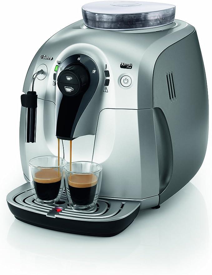Saeco Xsmall Plus e.s. – Cafetera automática: Amazon.es: Hogar