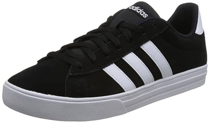 adidas Daily 2.0 Sneaker Herren schwarz mit weißen Streifen