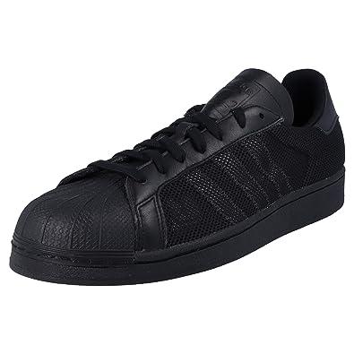 adidas Originals Baskets Superstar Triple Noir Homme