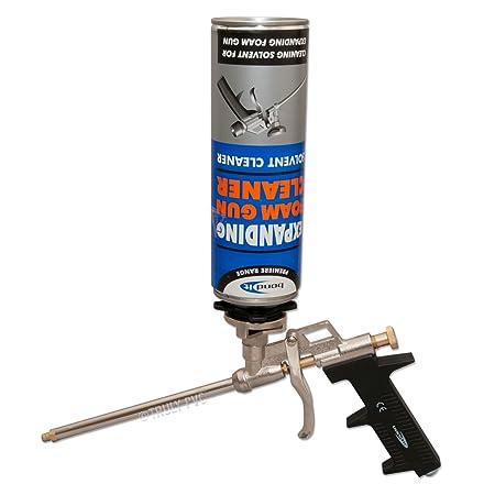Bond-It Professional PU Foam Gun - Pistola para espuma expansiva de poliuretano, de metal: Amazon.es: Bricolaje y herramientas