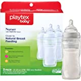 Playtex Baby BPA-Free Nurser Baby Bottles with Disposable Drop-Ins Bottle Liners, 8 Ounce, Pack of 3 Baby Bottles