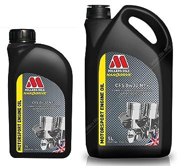 Millers CFS 0W30 NT+ - Aceite para Motor Nanodrive (6 L): Amazon.es: Coche y moto