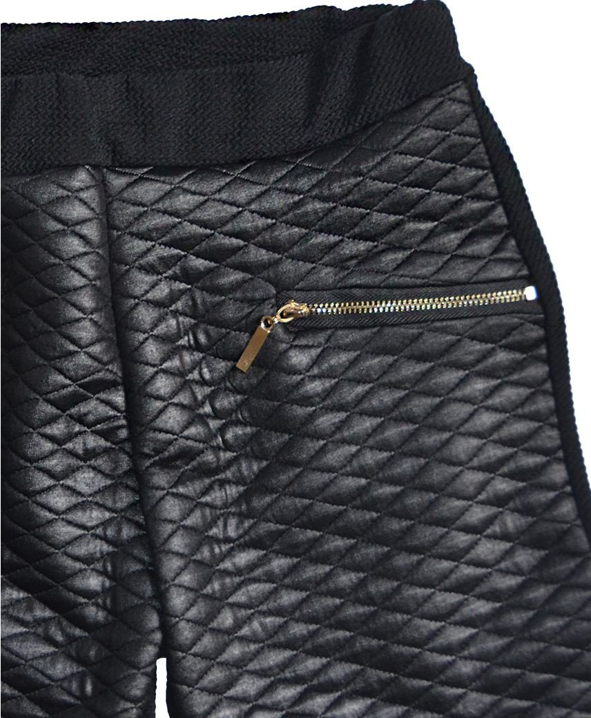 LotMart Girls Blazer Bundle Textured Leggings Style 3 in Mint Black 5-6 Y by LotMart (Image #4)
