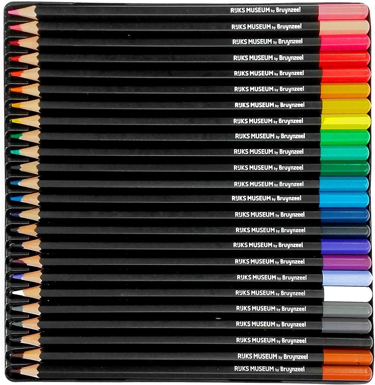 /Rijks Museum Edition di 24/matite colorate di alta qualit/à/ /la Lattaia Bruynzeel/